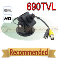 UK uk-uk - 690TVL Ultra WDR Pixim SEAWOLF HD CCTV Mini Camera 2.8mm Lens OSD