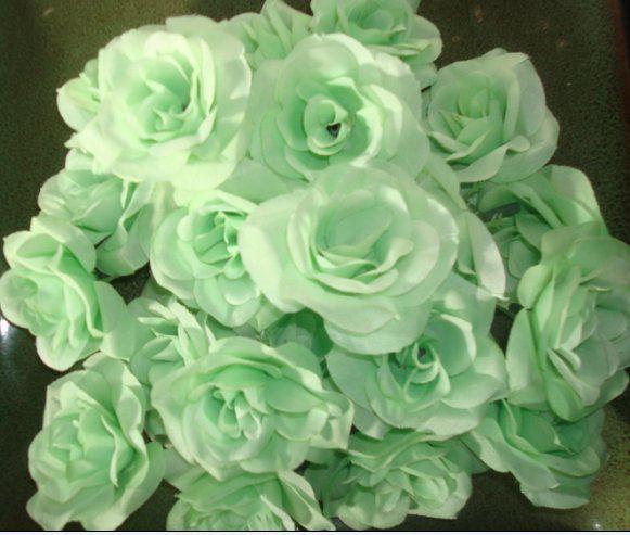 실크 동백 꽃 머리 Dia. 6cm 인공 단일 모란은 DIY 신부 머리 장식 꽃 웨딩 센터 피스에 대 한 전체 오픈 로즈