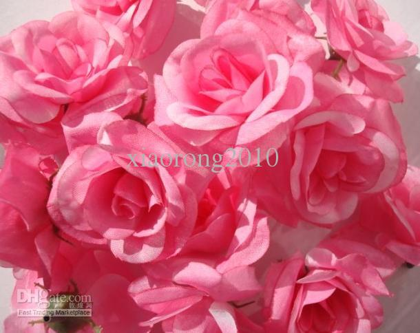 Silk Camellia Flower Head Dia. 6cm Artificial Single Peony Rose Full Open for DIY Bridal Headdress Flower Wedding Centerpiece