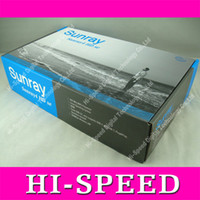 Wholesale Sunray Sr4 Wifi Triple - sunray 800 hd se sr4 triple Tuner DVB-S2 C T2 Sim 2.1 Support WIFI 300MHz Learing Remote Satellite Receiver