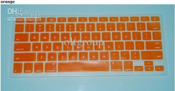 Laptop Silicone Keyboard Case Protector Cover för MacBook 12 Färger 10st /