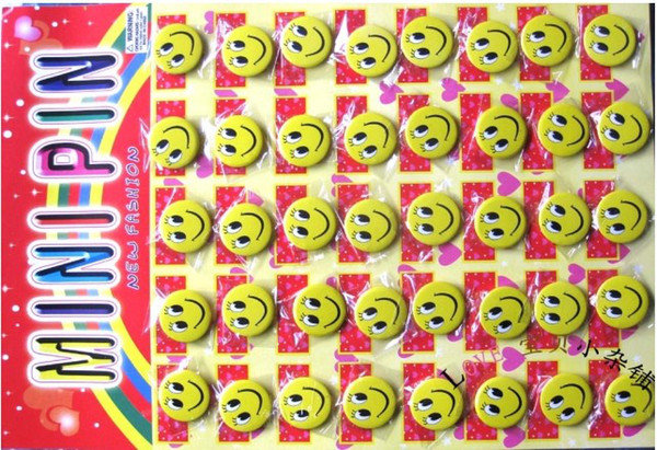 free shipping Smiley the badge smiley badge smiley badges smiley brooch cute cartoon badge