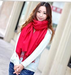 $enCountryForm.capitalKeyWord Australia - solid long scarf cotton wrap Scarves Shawl Pashmina Solid Scarf Wrap gift 2pc lot SALE SALE #1964