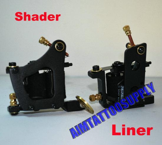 2012 new tattoo machine liner and shader tattoo kit supply for Shader tattoo machine