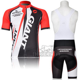 Wholesale Giant Mountain Bicycles - Pro GIANT team Cycling Jersey set Cycling clothing Breathable Mountain Bike Clothes Quick Dry Bicycle Sportswear Cycling Set