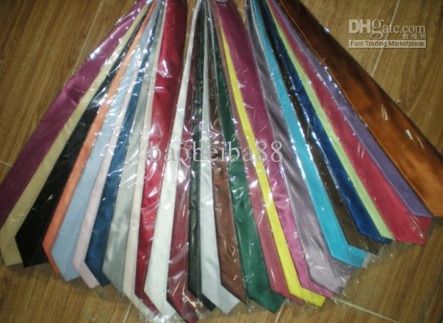 Męskie Korea Południowa Jedwabna pasek Necktie Stripe Tie Business Tie Plain Jacquard Krawaty Mieszane / # 139