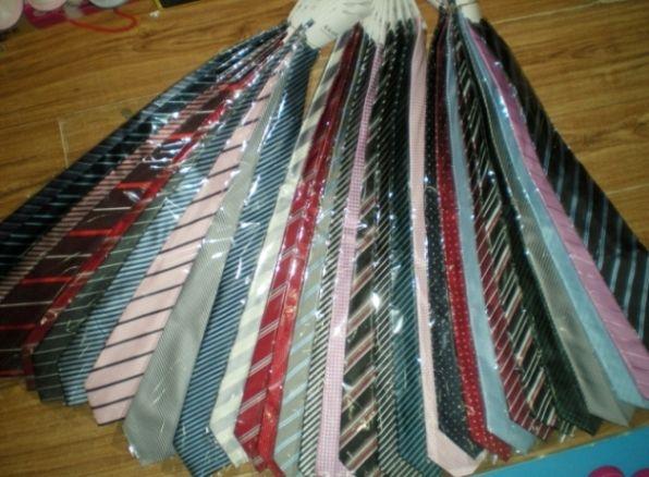 Mens south korea silk Stripe Necktie Stripe tie Business Tie Plain jacquard ties mixed #139