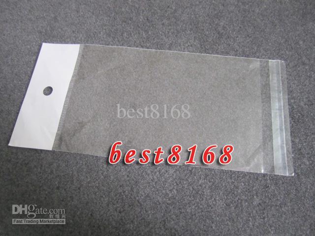 Poly Plast Retail Bag Packaging Package Transparent Clear för iPhone 12 11 XR XS Max X 7 6 Samsung S10 S20 Not 20 Läder Mjukt hårt fall