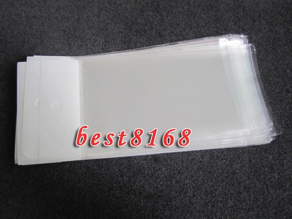 Limpar pp poli saco de varejo pacote de embalagens de plástico para samsung galaxy s7 mais s6 edge plus note5 iphone 7 5 5s 6 6 s além de casos capa 500 pcs