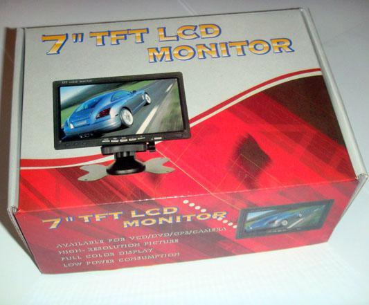 Caméra de recul 18 IR LED étanche + 7