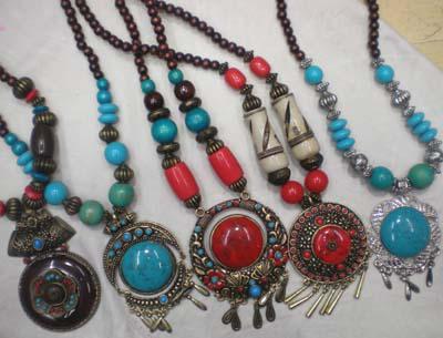 Collar Ético tradicional Joyería Tibetana Mujer Colgante collar de joyas PRECIO MÁS BAJO ENVÍO DENTRO DE 1 DÍAS LABORALES 22 unids / lote # 3399