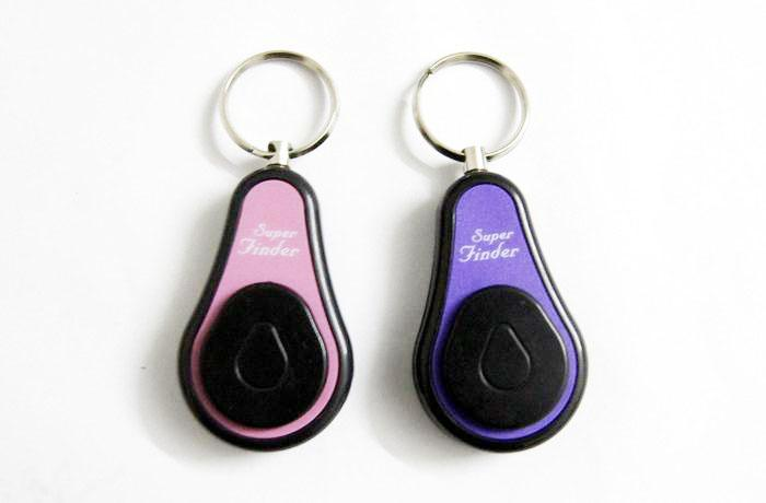 2 In1 Anti- lost Alarm RF Wireless Electronic Key Finder Locator Key Chain 1 transmitters 2Receivers