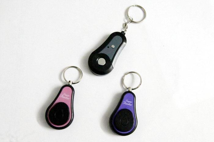 2 In1 무선 RF 전자 키 찾기 로케이터 키 체인 안티 - 분실 경보 1 송신기 2 수신기