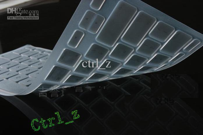 Wholesale - Laptop Silicone KeyBoard Case Protector Cover skin For MacBook waterproof dustproof 12 c