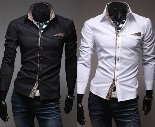 2016 Mens Casual Shirt Mens Designer Shirt Men White Shirt Dress ...