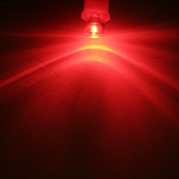 Partihandel T10 BA9S 1 LED Konkav LED-lampor LED-lampa Auto LED-lampa läslampa
