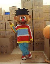 Wholesale Adult Ernie Costume - Sesame Street Ernie Adult Mascot Costume