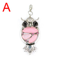 Wholesale Pt Fashion - 2013 hot selling Fashion Jewellery scarves Charm Resin Owl Pendants with 6colors ,PT-390