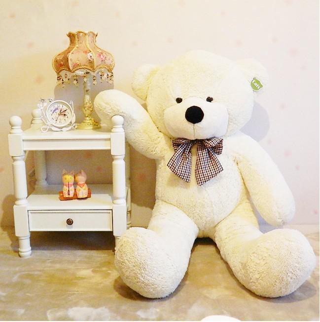 "71"" TEDDY BEAR STUFFED LIGHT BROWN GIANT JUMBO size:180cm"