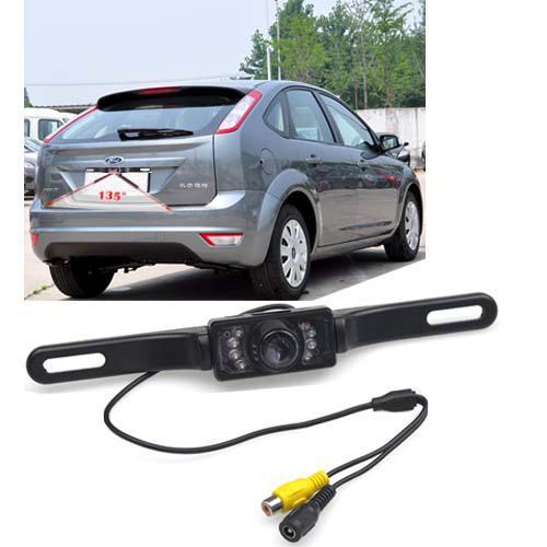 Vehículo de coche a prueba de agua Cámara de vista trasera de copia de seguridad de la visión nocturna de IR