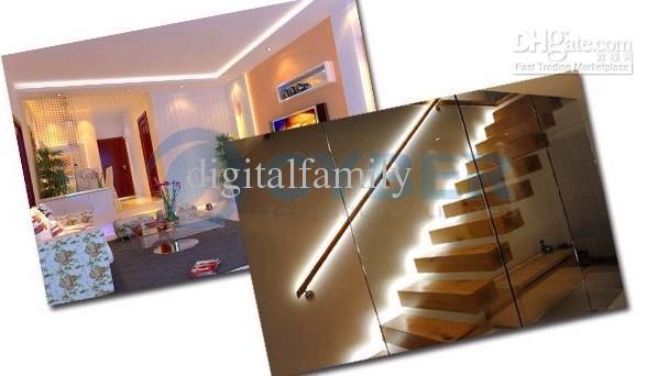 5m 3528 SMD LED Strip Cool Wit Warm Wit Blauw Rood Geel Groen Flexibel Niet-waterdicht 600 LED's Super Bright