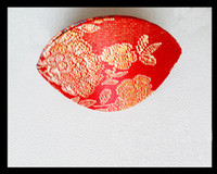 Wholesale brocade case - Seashell Small Storage Case for Ring Jewelry Packaging Box Chinese Silk Brocade Colorful Boxes