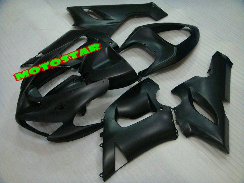 HOT SALE! Matte Black Bodywork fairing kit FOR Kawasaki Ninja ZX6R 636 ZX-6R 2005 2006 05 06 ZX 6R