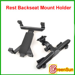 Wholesale Android Tablet Mount - New In Car Head Rest Backseat Mount Holder for ipad Tablet Tab Kindle android 2.1 2.2 x220 epad