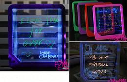 Wholesale Electronic Advertising - LED Message Board Erasable Electronic Fluorescent Writing Board LED Advertising Board Whiteboards