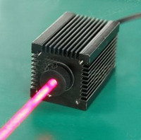 Wholesale 250nm red laser module nm with power supply and safety glasses easily burn cigarettes and match