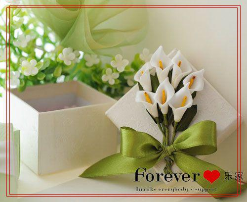 Cheap Wedding Favors Ideas Calla Lily Favor Boxes Gift
