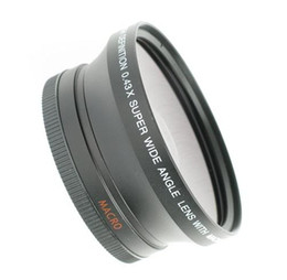 Wholesale 72mm lens - 72MM 0.43x WIDE ANGLE LENS MACRO for Panasonic AG DVX100AE HIGH DEFINITION