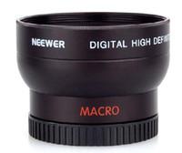 Wholesale 37mm wide - 37mm 0.45X Wide Angle Macro Lens For Nikon D40 D50 D60 D70 D80 D90 D40X D100 D3000