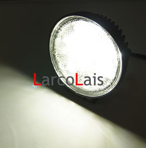 "4"" 12V 24V 4WD 18W LED Work Light Lamp Truck ATV SUV JEEP Boat OffRoad Rigid KC Tractor White"