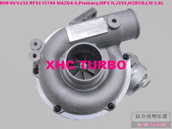 Новый RHF4V/VJ32 RF5C13700 турбонагнетателя для Mazda 6 Центральное управление,Premacy,MPV, который второй Ди J25S,MZRCD,ДВ 2.0 л 134HP