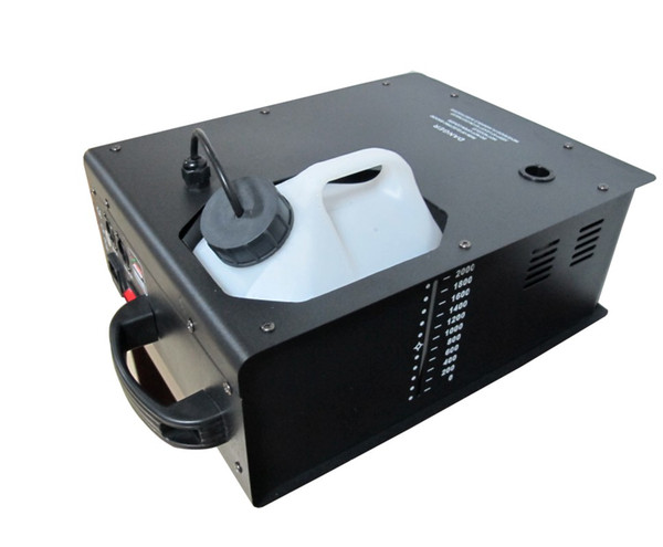 best selling 1500W Fog Machine stage effect machine Up smoke ouput, remote wire  dmx512