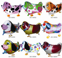 Wholesale Cheap Party Inflatables - High Quality Cheap Walking Animal Balloon Inflatable Aluminum Walking Pet Balloon Christmas Decoration Children Toys Birthday Party Balloons