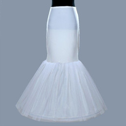 $enCountryForm.capitalKeyWord Canada - Cheap New Arrival Trumpet Mermaid Wedding Petticoat Bridal Crinoline Slip For Wedding Dresses High Quality In Stock Bridal Accessories