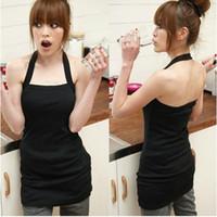 Wholesale Long Halter Vest - 10Pcs Lot High Quality Japan Korea Style Women's Halter Slim Long Vest Tank Tops #CL004