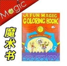 Large Size A Fun Magic Coloring Book/Magic Props /Magic Tricks/Magic ...