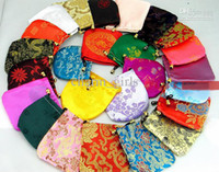 Wholesale Earring Gift Bags - new Silk bags Gift Bags Jewelry bags bags Earrings bags 240pcs lot