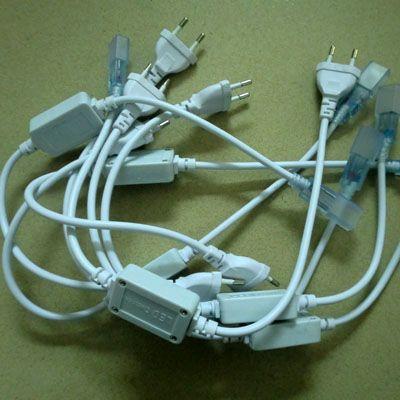 5 sztuk 220 V 35285050 Wtyczka energetyczna UE, złącze do światła paska LED wysokiego napięcia