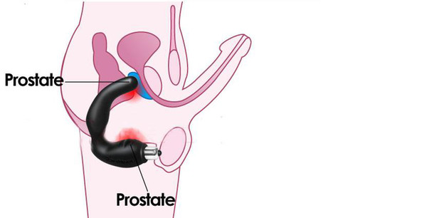 Masturbation prostate from anus