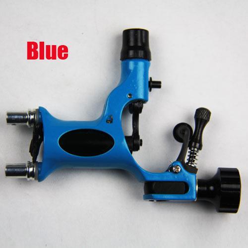 Hot Dragonfly Rotary Tattoo Machine Gun Blue Tattoo Motor Tattoo Kits Supply New