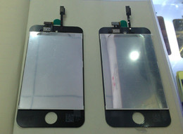 Wholesale Touch 4th Lcd Display - NEW For iTouch 4 4th Gen Front LCD Display Screen Digitizer Glass Screens black version