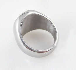 Wholesale Signet Silver - VINTAGE SIGNET RING - STERLING SILVER SZ 8.5 free shipping