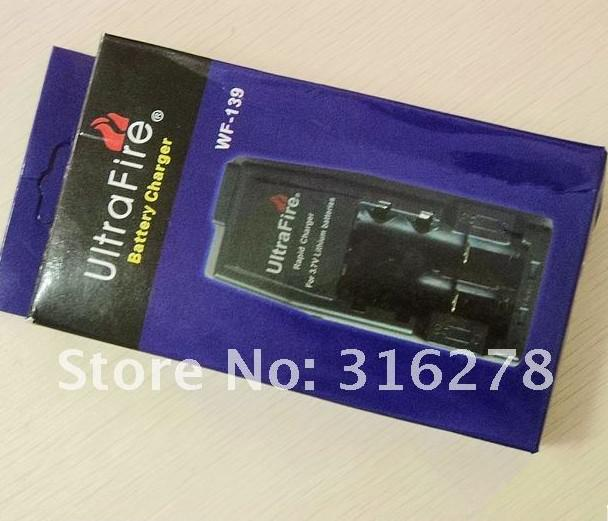 50pcs Free DHL UltraFire 3.7V Battery Batteries Charger for 18650 14500 17500 18500 17670(EU or US)