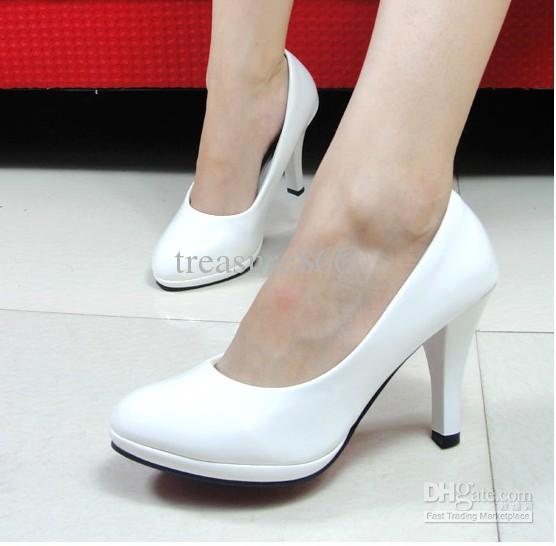 Pp0059 Hot Sell Popular White Wedding Shoes High Heels Shoes Party ...