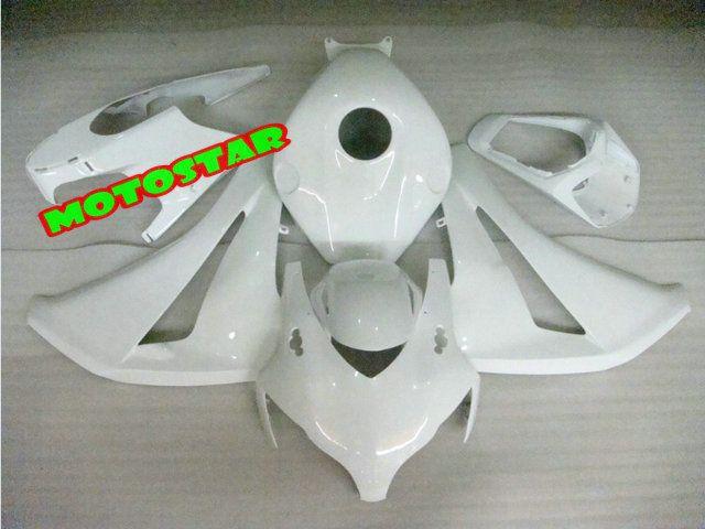 White Hi-Grade Injection mold Fairings for CBR1000RR 2008 2009 2010 2011 CBR 1000 RR 1000RR 08-11
