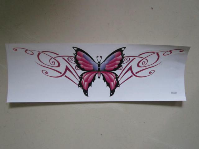 60 sztuk / partia 40 * 12 cm Motyl naklejki naklejki do samochodu / ściany śmieszne naklejki na zderzak Naklejki